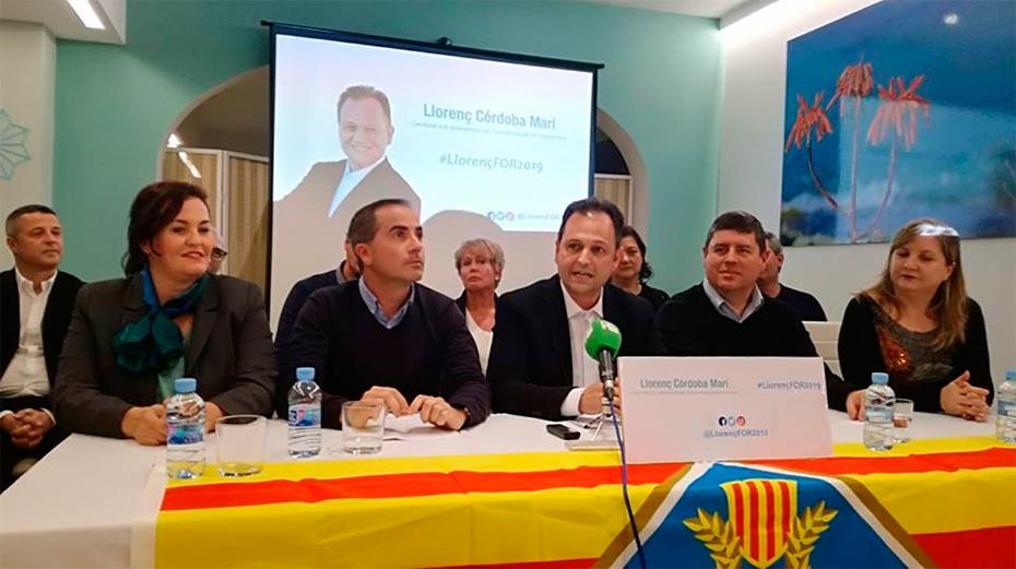 Sa Unió de Formentera presenta a Llorenç Córdoba Marí com a candidat a la presidència del Consell Insular de Formentera